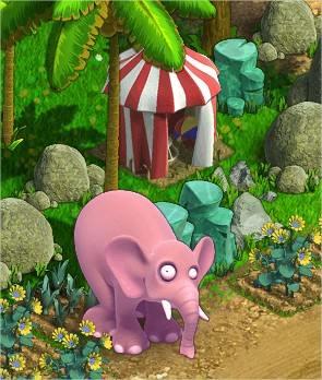 Zombie Island, Pink Elephant