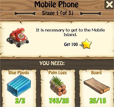 Zombie Island, Mobile Phone