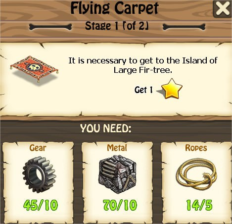 Zombie Island, Flying Carpet