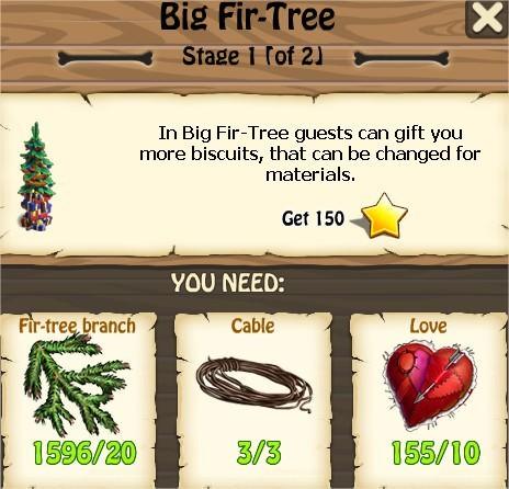 Zombie Island, Big Fir-Tree