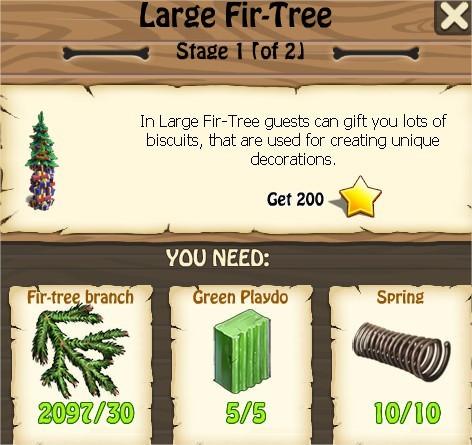 Zombie Island, Large Fir-Tree