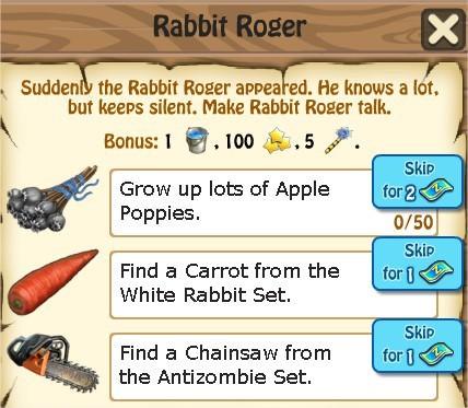 Zombie Island, Rabbit Roger