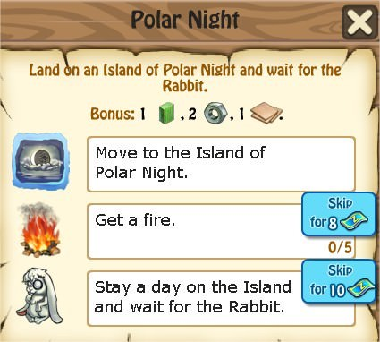 Zombie Island, Polar Night