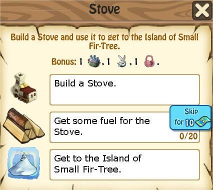 Zombie Island, Stove