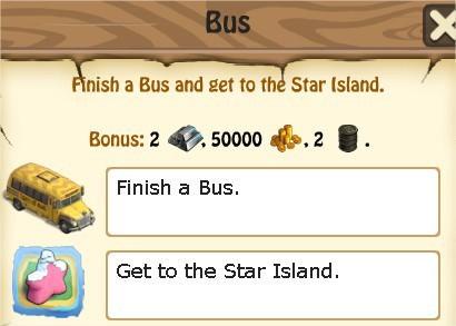Zombie Island, Bus