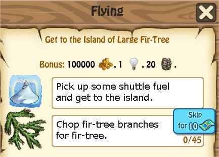 Zombie Island, Flying