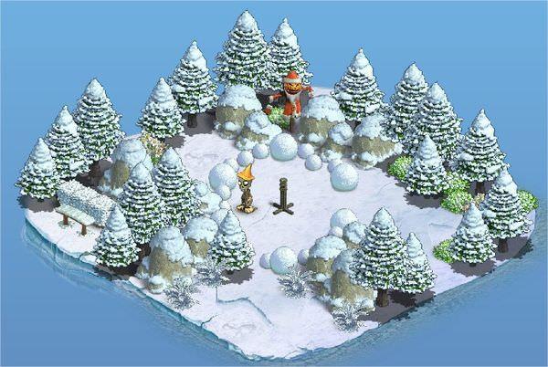 Zombie Island, Island of Small Fir-Tree