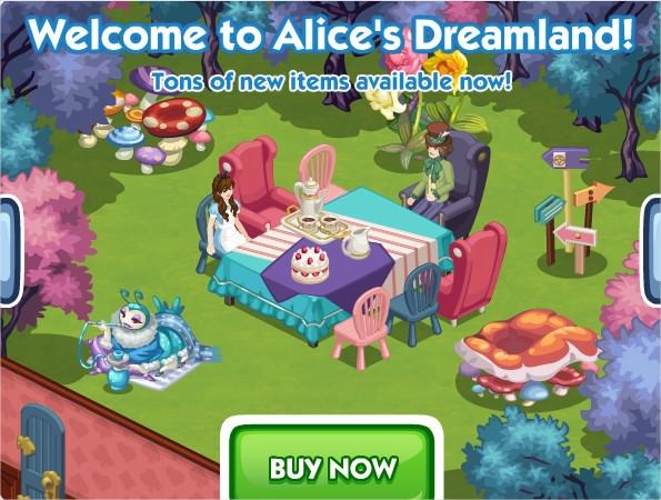 The Sims Social, Alice's Dreamland week
