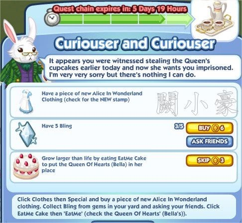 The Sims Social, Curiouser and Curiouser 5