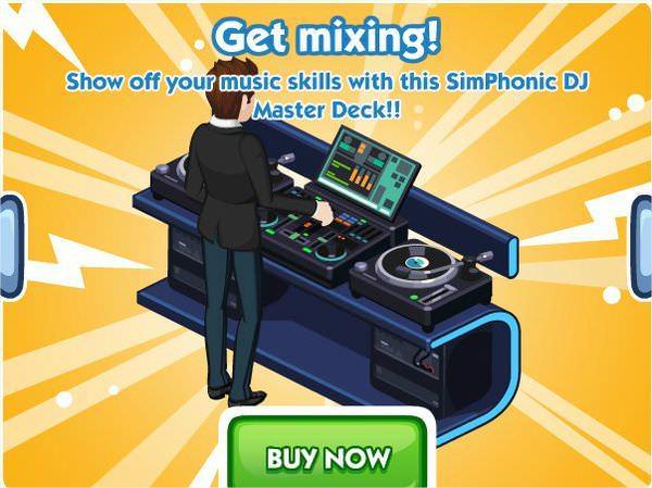 The Sims Social, SimPhonic DJ Master Deck