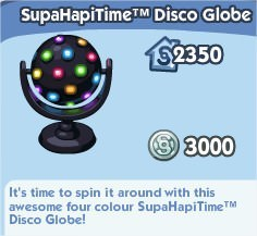The Sims Social, SupaHapTime Disco Globe