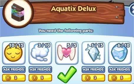 The Sims Social, Aquatix Delux