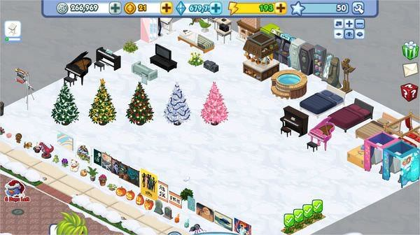 The Sims Social, Snow