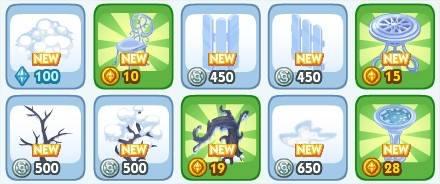 The Sims Social, winter week 2