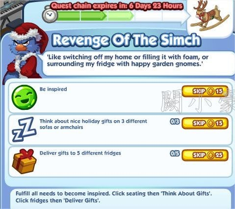 The Sims Social, Revenge Of The Simch 3