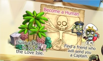 Zombie Island, Love Island