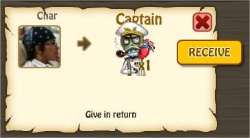 Zombie Island, Captain