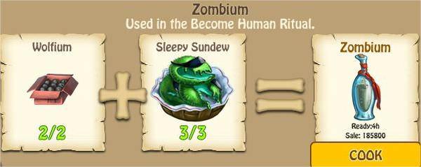 Zombie Island, Human