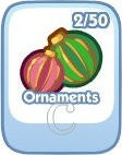 The Sims Social, Ornaments