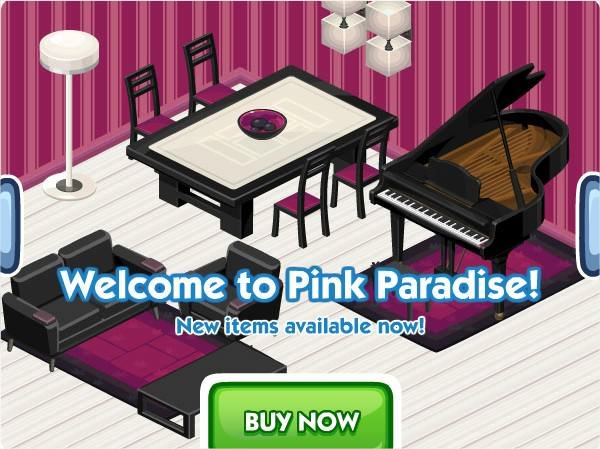 The Sims Social, Pink Paradise week