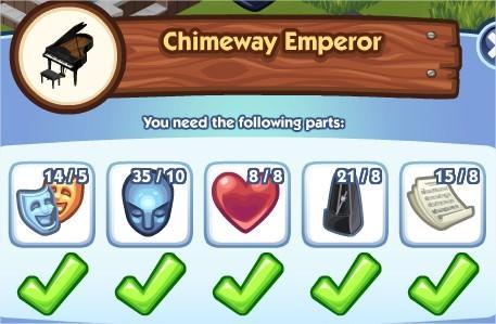 The Sims Social, Chimeway Emperor