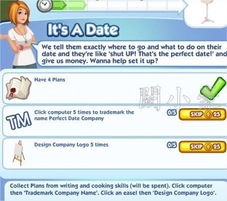 The Sims Social, Is A Date 2