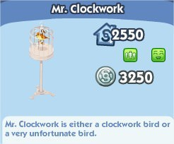 The Sims Social, Mr.Clockwork