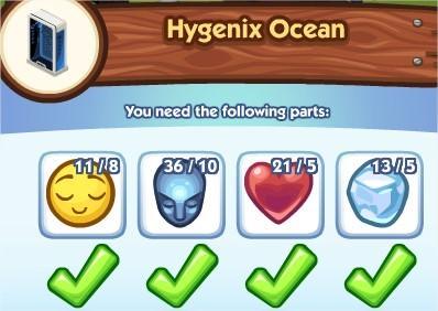 The Sims Social, Hygenix Ocean