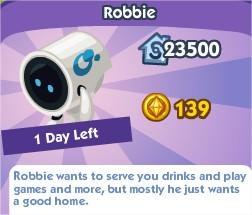 The Sims Social, Robbie