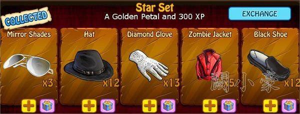 Zombie Island, Star Set