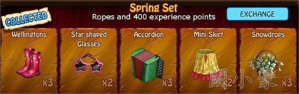 Zombie Island, Spring Set
