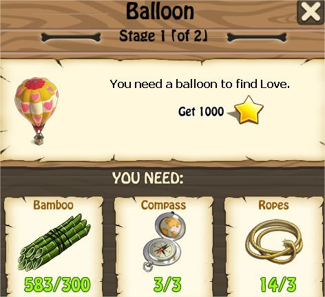 Zombie Island, Balloon