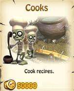 Zombie Island, Cooks