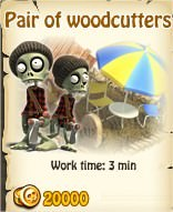 Zombie Island, Pair of woodcutters