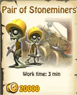 Zombie Island, Pair of stoneminer