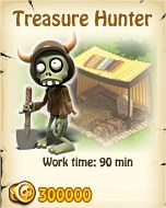 Zombie Island, Treasure Hunter
