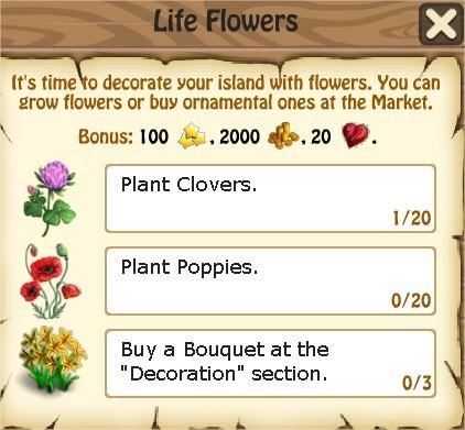 Zombie Island, Lite Flowers