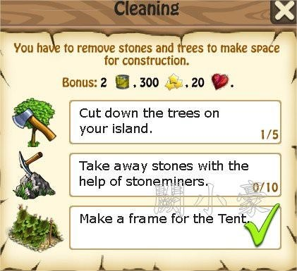 Zombie Island, Cleaning