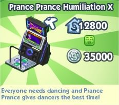The Sims Social, Prance Prance Humiliation X