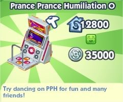 The Sims Social, Prance Prance Humiliation O