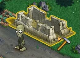 Zombie Island, Buildings