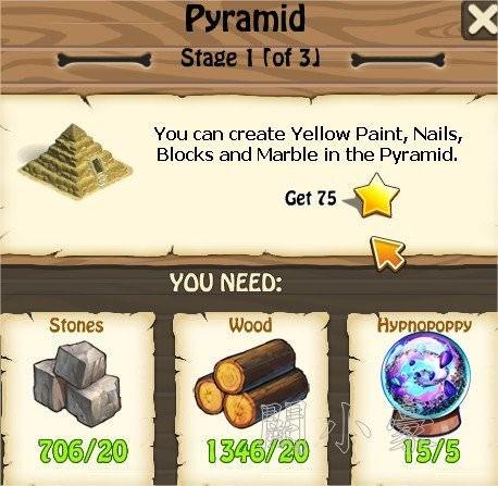 Zombie Island, Pyramid