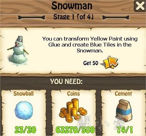 Zombie Island, Snowman