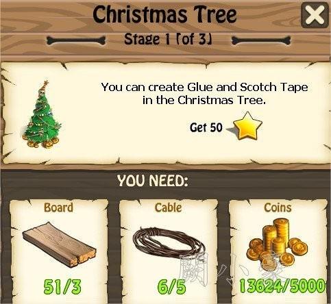 Zombie Island, Christmas Tree