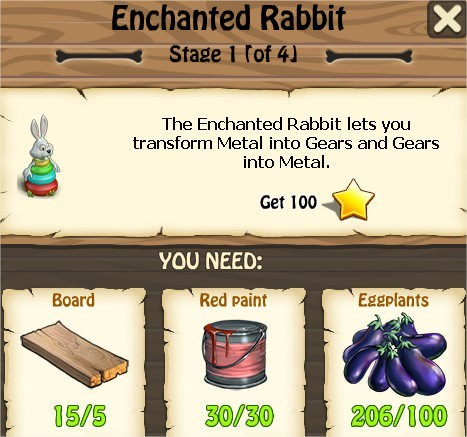 Zombie Island, Enchanted Rabbit