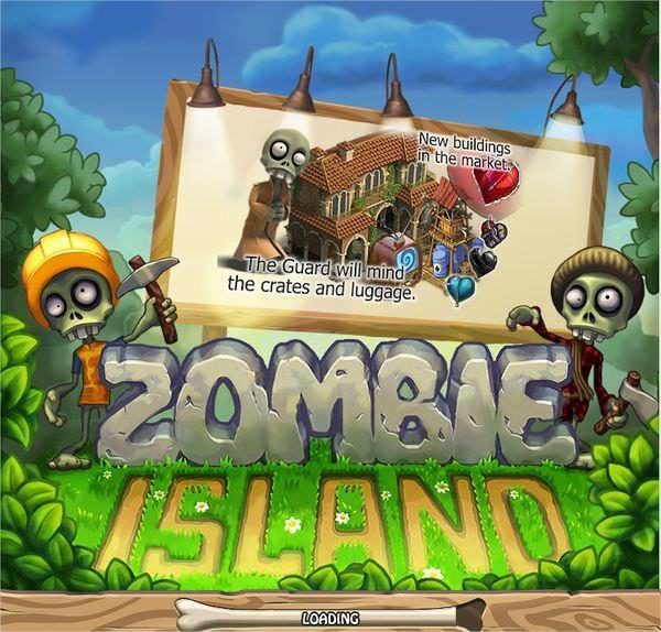 Facebook, Zombie Island