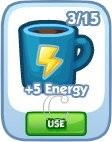 The Sims Social, +5 Energy