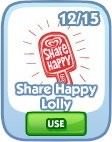 The Sims Social, Share Happy Lolly