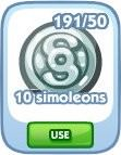 The Sims Social, 10 simoleons