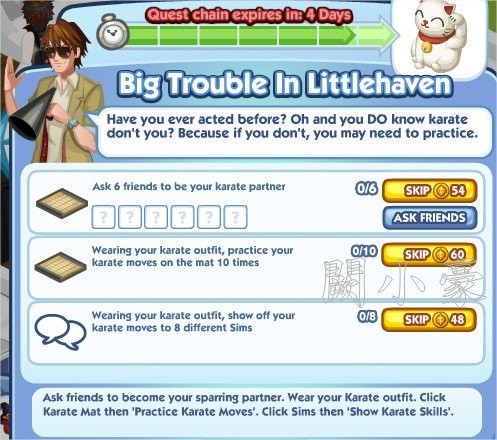 The Sims Social, Big Trouble In Littlehaven 7